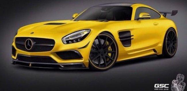 Mercedes-AMG GT получил новый дизайн