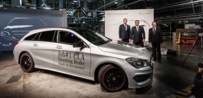 Стартовало производство модели Mercedes-Benz CLA Shooting Brake