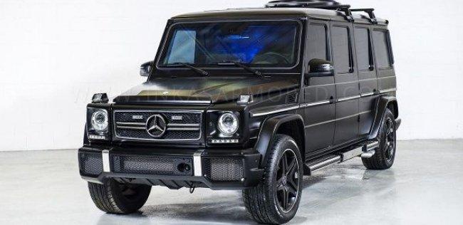 Бронированный лимузин «Мерседес» G 63 AMG оценили в миллион долларов