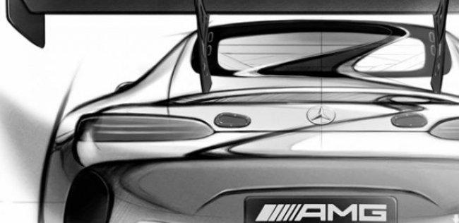 Mercedes показал первый тизер преемника SLS AMG GT3