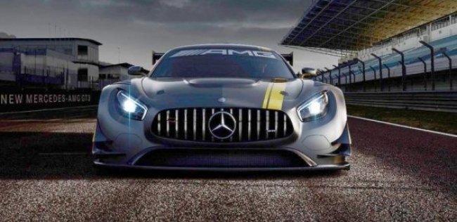 «Мерседес» показал облик гоночного суперкара AMG GT
