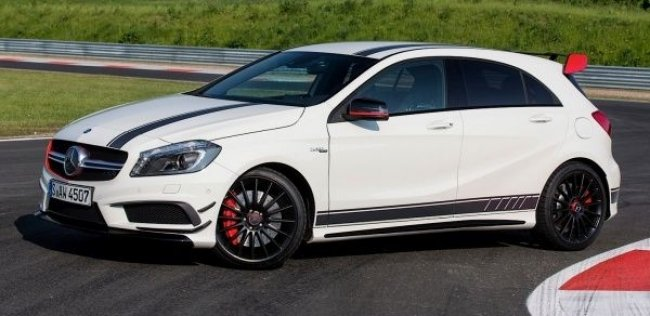 Mercedes-Benz выпустит 385-сильный A-Class