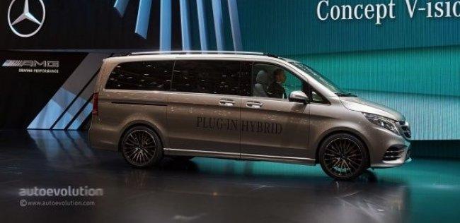 Гибридный минивэн Mercedes-Benz оказался быстрее хот-хэтчей