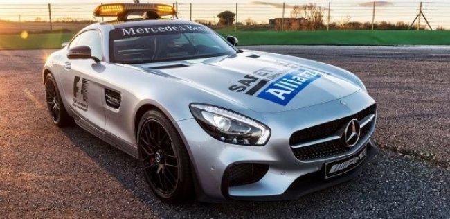 Новый суперкар Mercedes-Benz стал пейс-каром Формулы-1