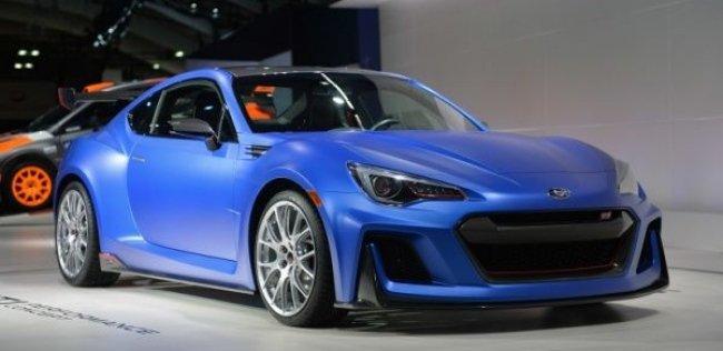 Subaru оснастила BRZ 300-сильным гоночным двигателем