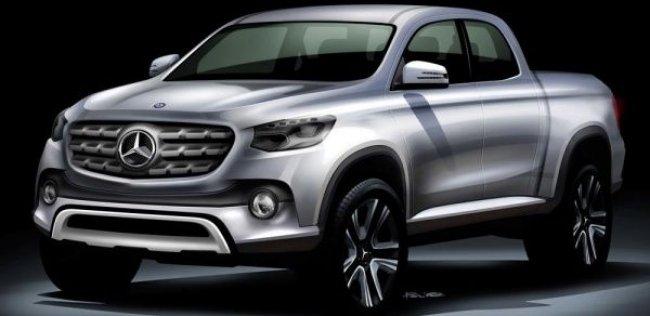 Renault-Nissan и Daimler вместе сделают пикап