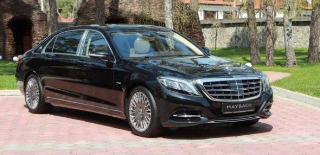 Роскошный Mercedes-Maybach S-класс привезли в Украину