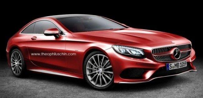 Mercedes представит новое спортивное купе в 2019 году