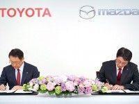 Mazda � Toyota ������� ������ ���� ����� �����