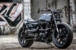 Кастом Rough Crafts Hooligan Tactics на базе Harley-Davidson Forty-Eight