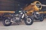 Новый мотоцикл Yamaha XSR700 2016