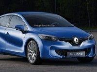 ������� ���� �������� ������ ��������� Renault Megane