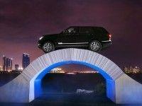 Range Rover ������� �� ����� �� ������ ������