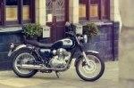 Kawasaki отзывает партию мотоциклов W800