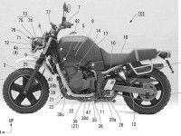 Компания Honda патентует компоненты Honda Bulldog
