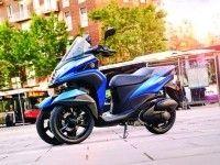 Yamaha анонсировала новый трехколесный скутер Yamaha Tricity 155 2016