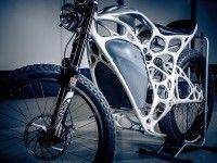 Первый в мире мотоцикл, распечатанный на 3D-принтере, показали в Германии