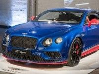Мировая премьера Bentley GT Speed и GT Speed Black Edition в Нью-Йорке