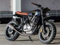 Кастом Kevils Moto5 на базе Honda CBF500