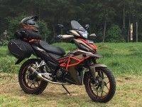Honda показала внедорожную версию скутера в Индонезии