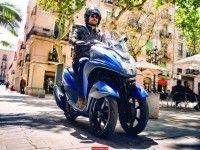 Yamaha начинает продажи скутера Tricity в Европе