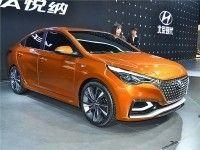 ����� ��������� Hyundai Verna - c ����� � ���������