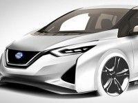 ����� Nissan Leaf ������ �������� 500 �� �� ����� �������