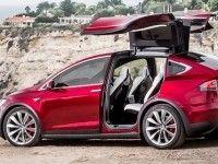 Tesla ������� ������� ������ ��� Model X