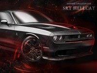 ������ ������ ����� Dodge Challenger Hellcat ����� �����