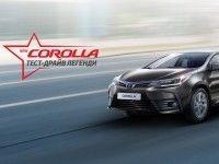 ���쒺�� ����-����� �� ���� Toyota Corolla