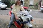Джеймс Мей купил новый Honda CBR600RR и попался на превышении скорости