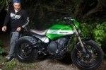 Kawasaki представляет мотоцикл Urban-X
