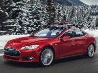 ����������� ������ ��������� Model S �������� ������ � ��� �� Tesla