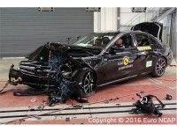 Euro NCAP ������������� ����� Mercedes-Benz E-Class