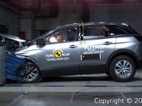 Euro NCAP ������ ��������� ������ ��������� Peugeot 3008