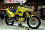 Исторический мотоцикл Suzuki DR-Z Dakar Rally показали на Интермот 2016