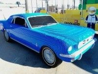 � ��� ������� Ford Mustang �� 194 ����� ������� Lego