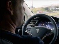 Tesla Model X � ����������� ������ ������������� ��������������