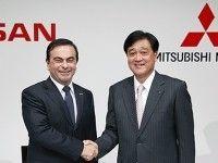 Nissan ������� � ������� ������������ ������ Mitsubishi