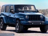 Jeep рассекретил обновленый Wrangler