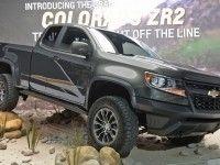 Внедорожный Chevrolet Colorado оснастили подвеской с технологиями Формулы-1