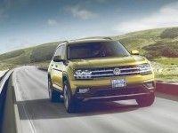 Большой кроссовер Volkswagen Atlas приедет в СНГ с турбодизелем