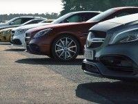 Британцы сравнили в дрэге шесть моделей Mercedes-AMG