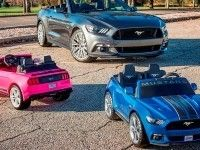 Ford сделал детский Mustang с трекшн-контролем