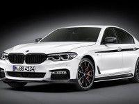 BMW подготовила для новой «пятерки» спортивные аксессуары