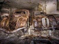 Во Франции нашли спрятанные под землей автомобили 1930-х