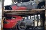 Три маслкара Dodge Challenger SRT Demon сгорели во время доставки