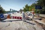 На Харьковщине дорожники заканчивают ремонт моста на трассе Киев-Харьков-Довжанский