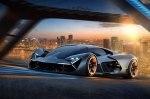 Lamborghini представила суперкар будущего с «самозалечивающимся» кузовом