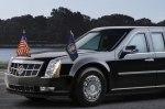 Как «путешествуют» президентские автомобили